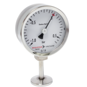 Mechanical manometers, suitable for UHV