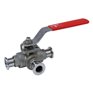 Ball valves, 3-way, manual - Product