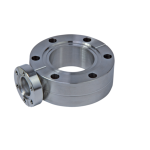 CF Spacer Flange with Bore Holes and Port(s)